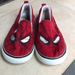 Gap Spider man shoes
